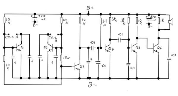 Schema Elettrico Per Metal Detector : Ilampidigenio metal detector bfo